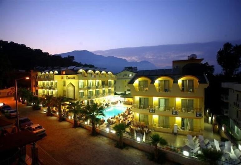 جراند لوكولوس هوتل - شامل جميع الخدمات, كيمير, واجهة الفندق - مساءً /ليلا