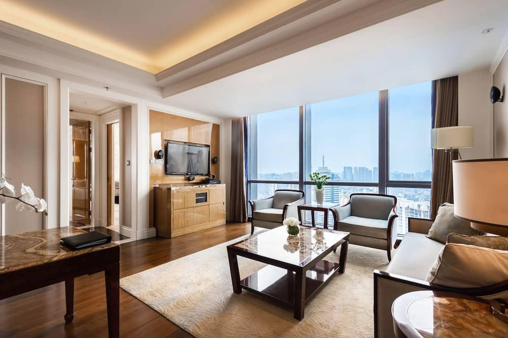 Premier Suite, 1 Bedroom, Non Smoking - Living Area