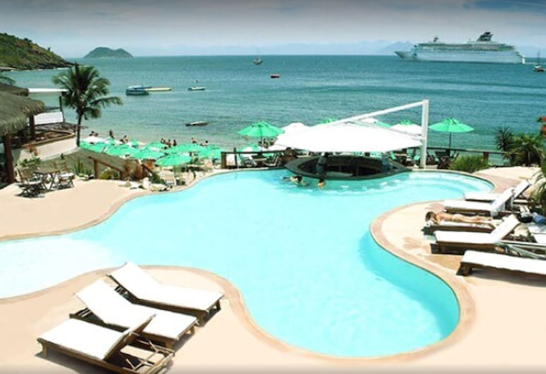 Hotel La Foret & Beach Club, Buzios, Beach bar