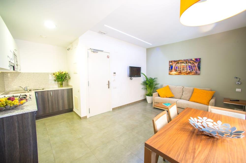 Standard Apartment, 1 Bedroom (4 pax) - Living Area
