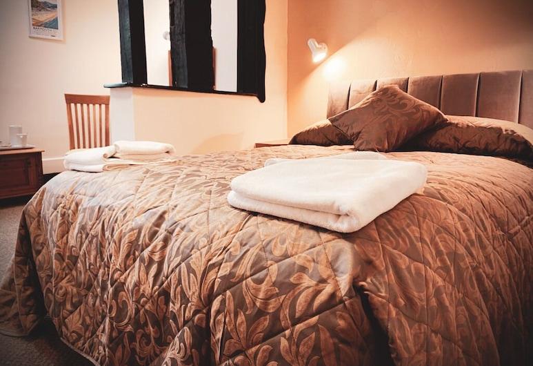Cain Valley Hotel, Llanfyllin, Double Room, Ensuite, Bilik Tamu