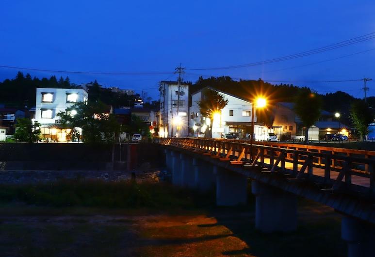Spa Inn Oyado Iguchi, Takayama, Hadapan Hotel - Petang/Malam