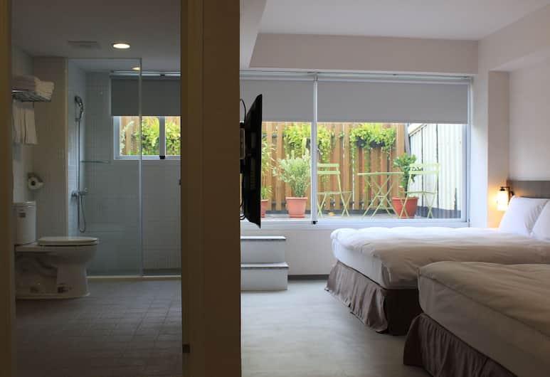 Sunnyside Hotel, Kaohsiung, Apartmán, balkón, Výhľad z hosťovskej izby