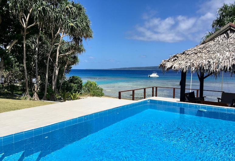 Coco Beach Resort, Port Vila, Villa, Uitzicht vanaf kamer