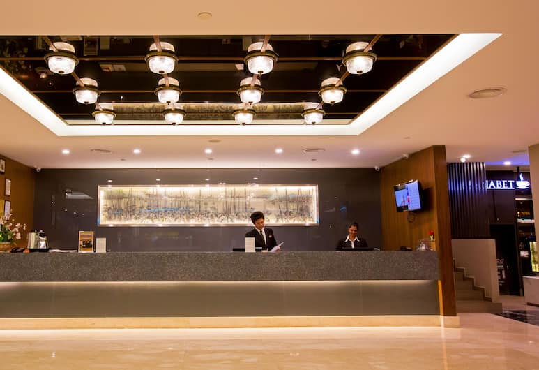 Hotel Malaysia, George Town, Quầy tiếp tân