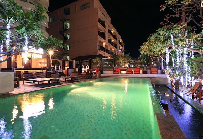 Pattaya Sea View Hotel, Pattaya, Pool