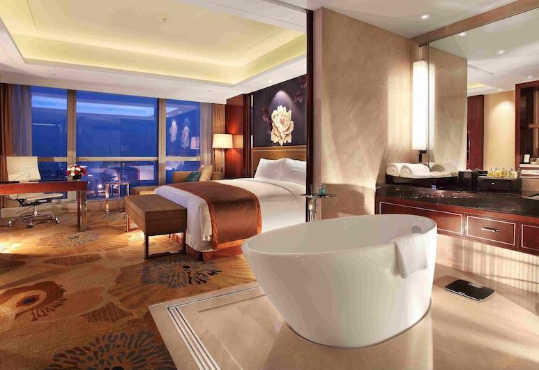 Minyoun Chengdu Dongda Hotel - Member of Preferred Hotels, Chengdu, Superior Room, Bilik Tamu