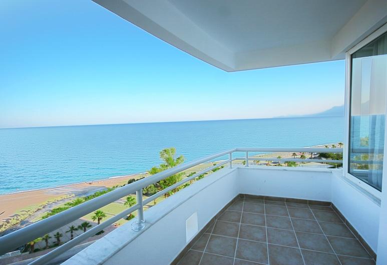The Corner Park Hotel, Konyaalti, Standard Double Room, Balcony, Sea View, Balcony