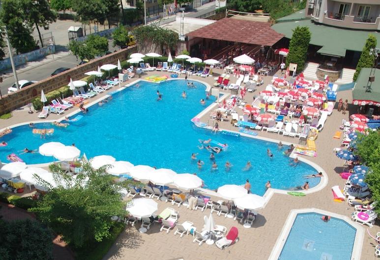 Club Sidar, Alanya, Rodinné apartmá, Výhled zpokoje