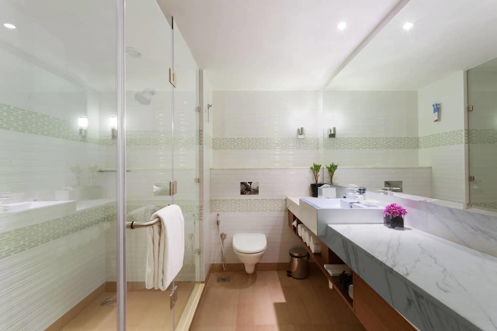 디럭스룸, 퀸사이즈침대 1개, 금연 - 욕실
