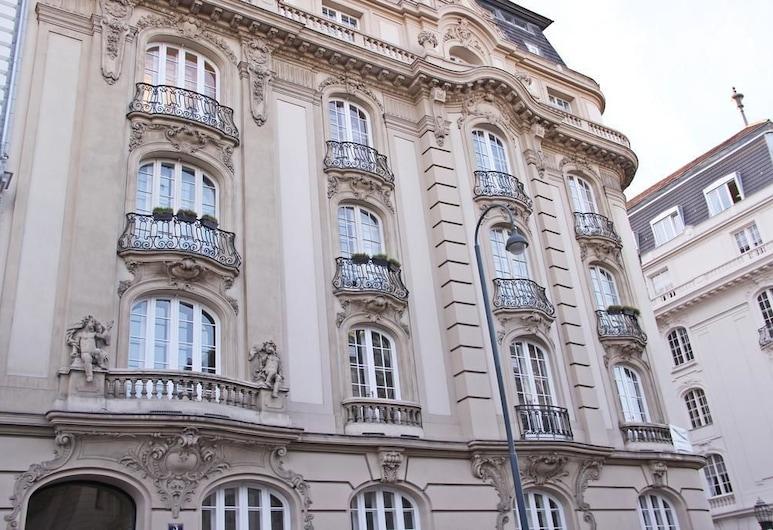 博物館膳食公寓飯店, 維也納, 飯店正面