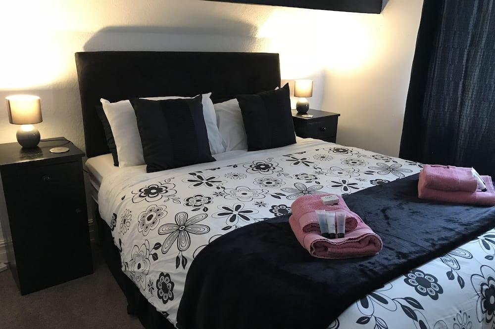 Phòng đôi cơ bản, 1 giường đôi, Quang cảnh thành phố, Khu vực vườn - Phòng tắm