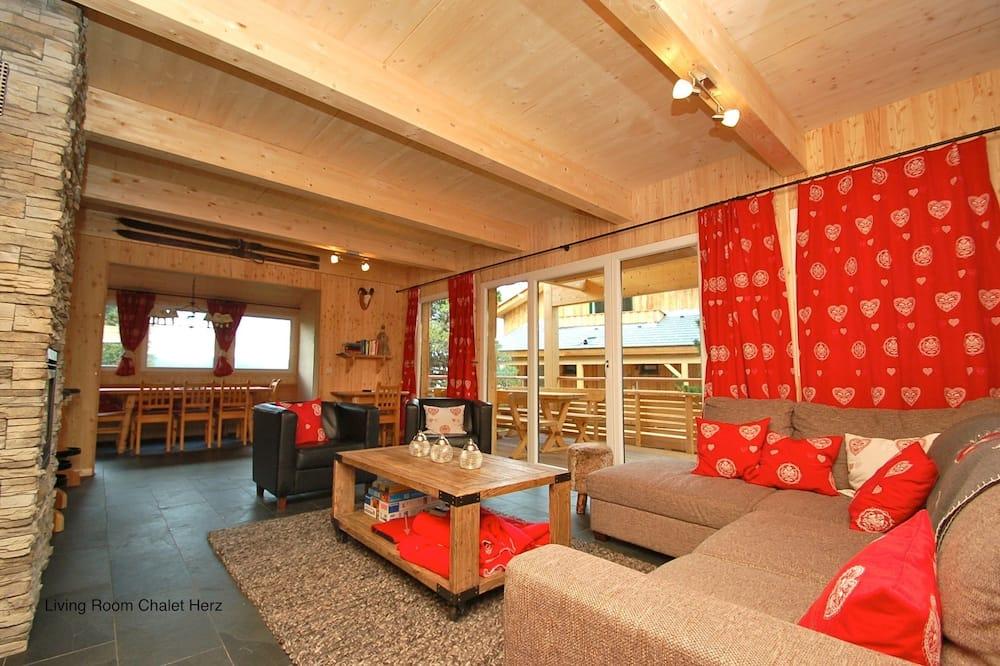 Ferienhaus (Type B) - Wohnbereich