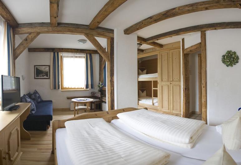 Hotel Hohe Tauern, Matrei in Osttirol, Keturvietis kambarys, keli vaizdai, Svečių kambarys