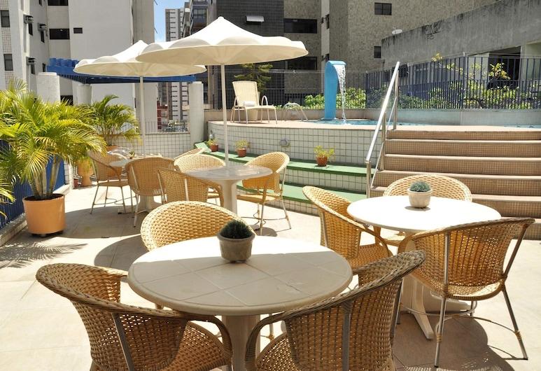 Vila Azul Praia Hotel, Fortaleza, Terrasse/Patio