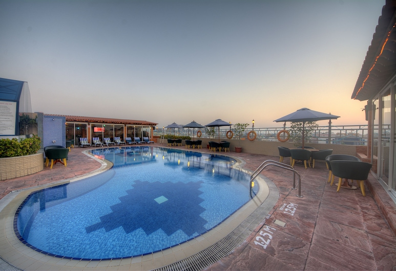Fortune Grand Hotel, Dubaï, Piscine sur le toit