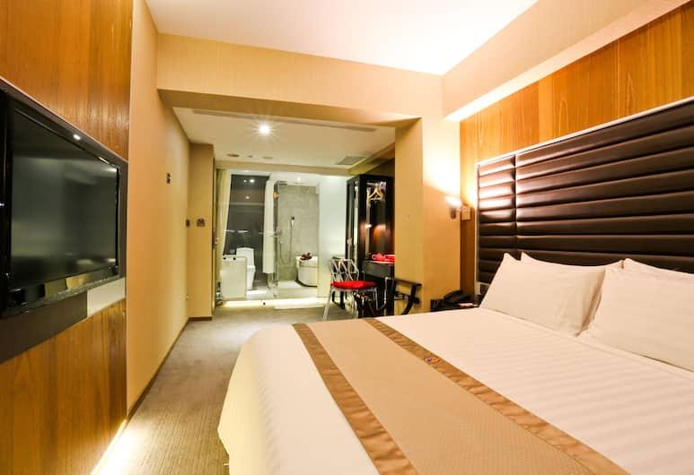 W5 Best Hotel, Taipei, Gästrum