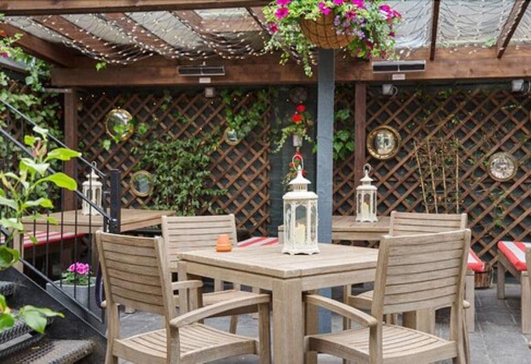 The Malt House, London, Speisen im Freien