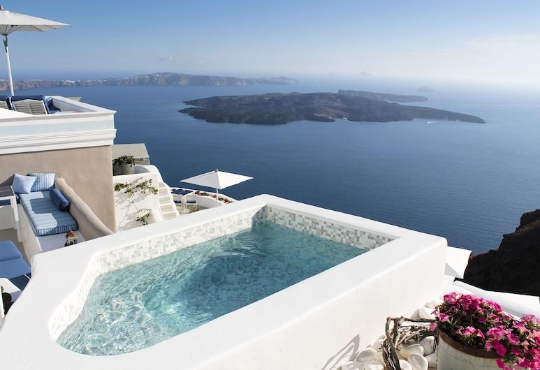 Iconic Santorini, a Boutique Cave Hotel, Σαντορίνη, Εξωτερική πισίνα