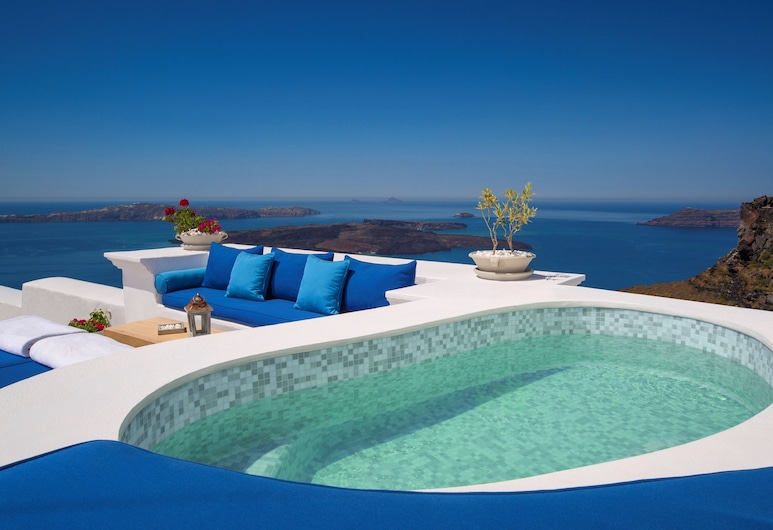 Iconic Santorini, a Boutique Cave Hotel, Santorin, Suite (The Iconic), Whirlwanne