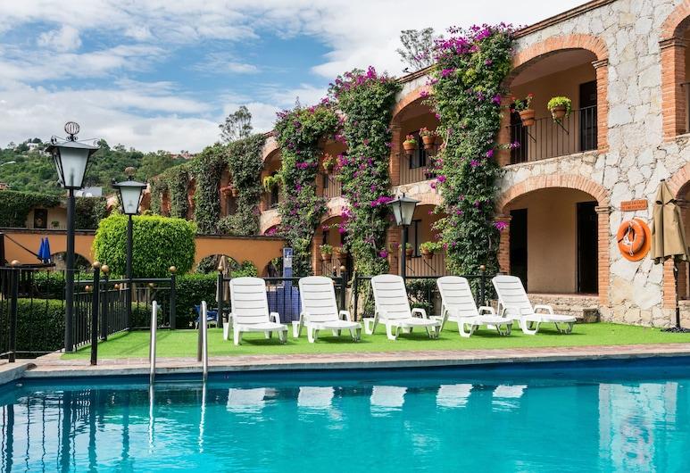 Hotel Abadía Plaza, Guanajuato, Outdoor Pool