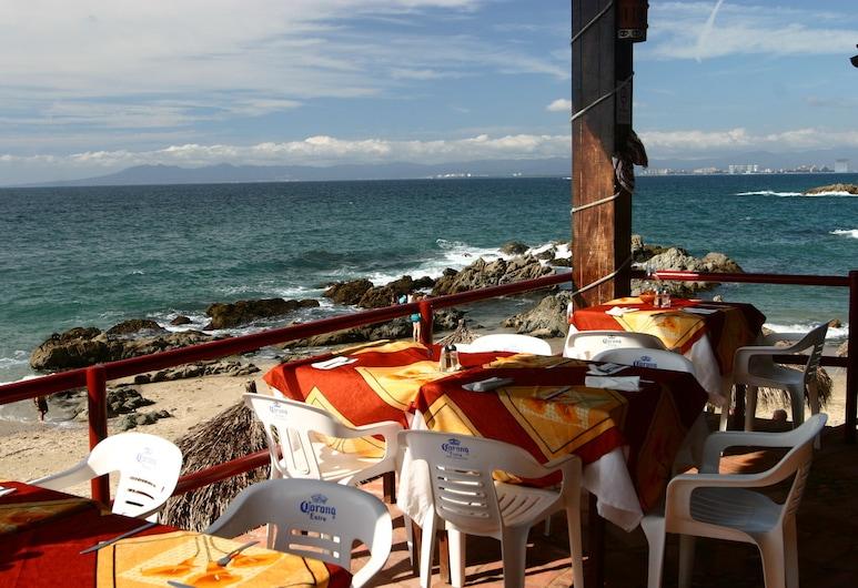 Lindo Mar Resort, Puerto Vallarta, Dinerruimte buiten
