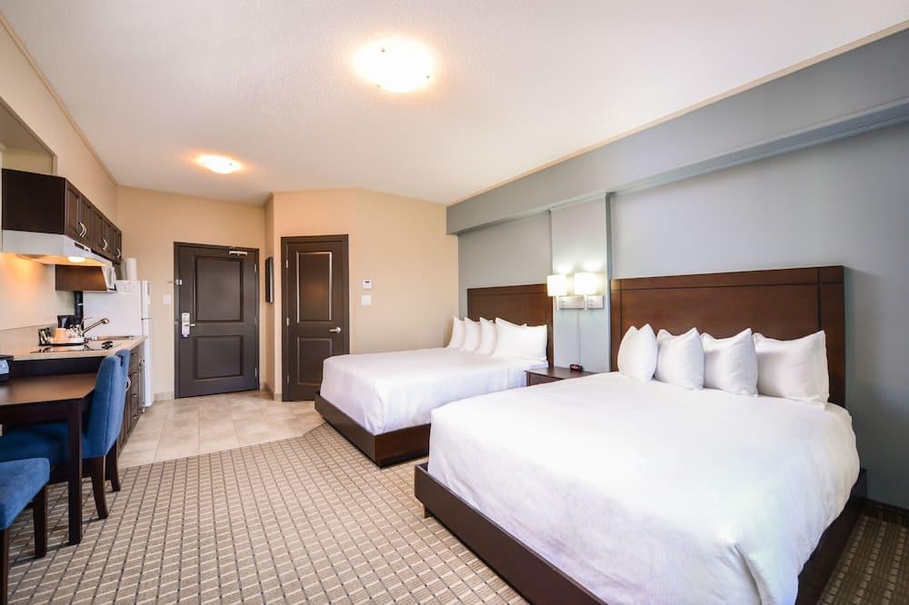 Standard Oda, 2 Büyük (Queen) Boy Yatak, Sigara İçilmez - Oda