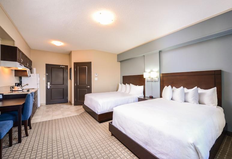 Quality Inn & Suites, Kindersley, Habitación estándar, 2 camas Queen size, para no fumadores, Habitación