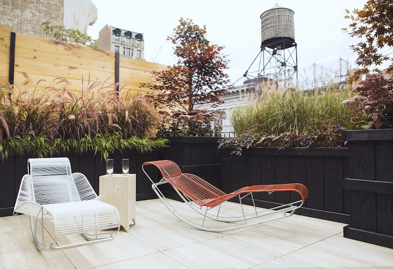 THE BROOME NYC, New York, Penthouse Suite with Private Terrace, Guest Room