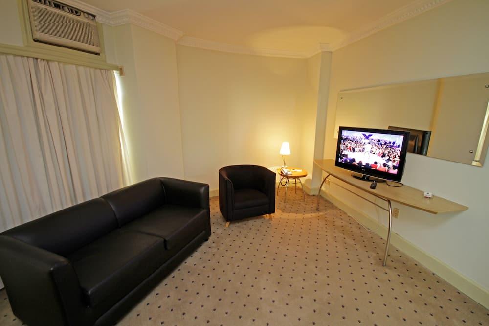 Suite, 1 cama doble - Sala de estar