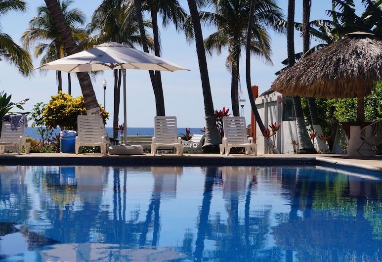 Hotel Surf Olas Altas, Puerto Escondido, Piscina