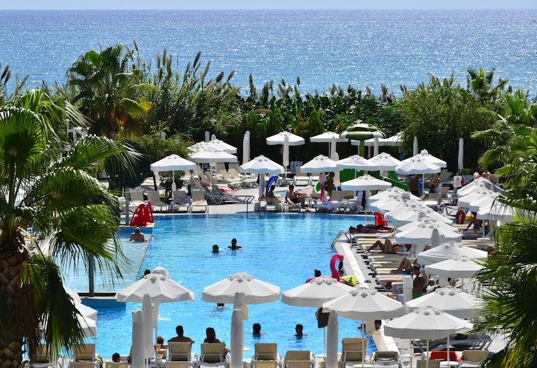 White City Resort Hotel, Alanya, Hồ bơi ngoài trời