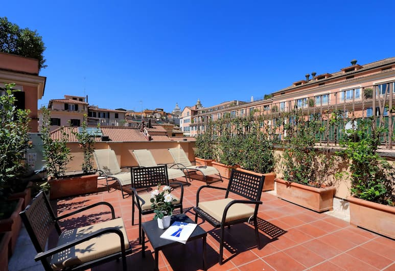 Piazzetta Margutta - My Extra Home, Rome, Deluxe Apartment, 3 Bedrooms, Terrace, City View