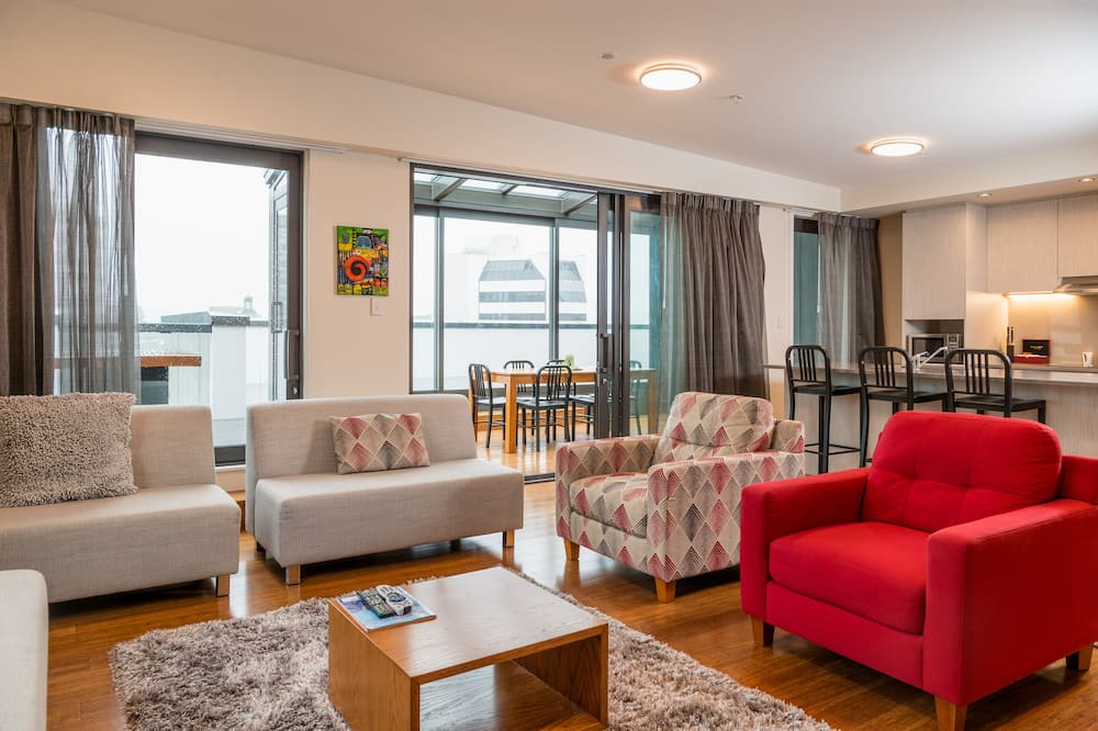 Penthouse, 3 Bedrooms (North)  - Living Area