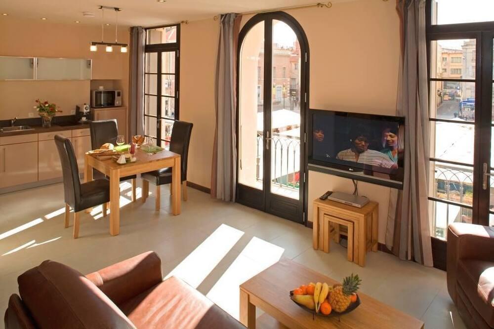 Dzīvokļnumurs, balkons - Dzīvojamā zona