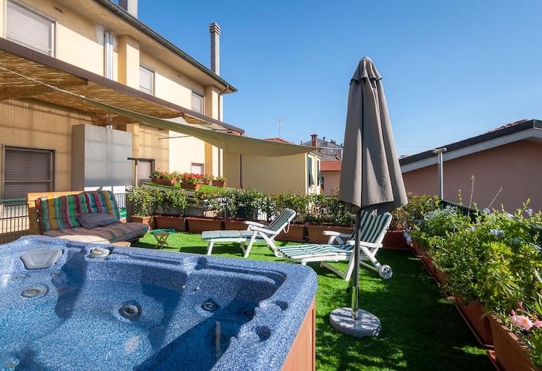 Hotel Bernardino, Lucca, Terrazza/Patio