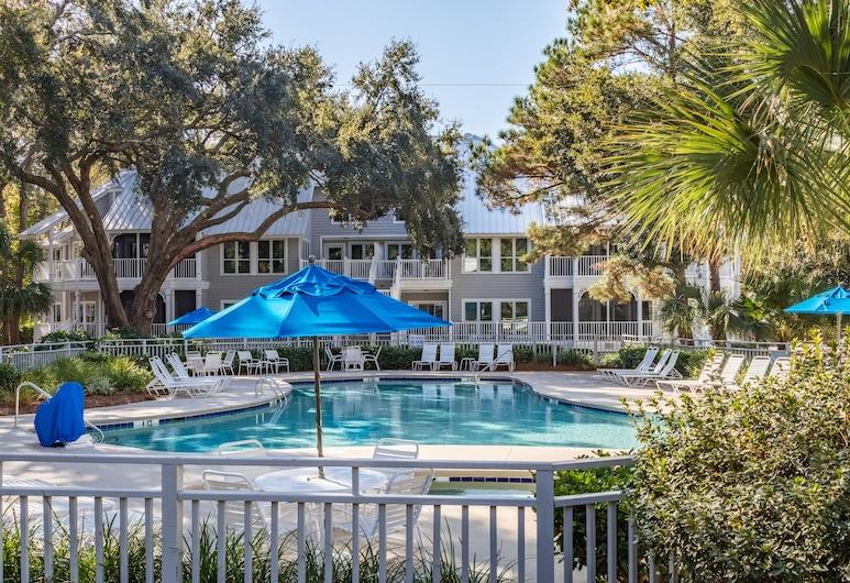 Ocean Palms Villas at Port Royal Resort, Hilton Head Island, Depan hartanah