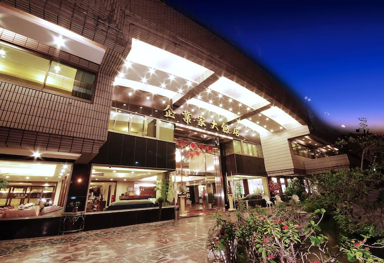 The Enterpriser Hotel, Taichung, Hotel Front – Evening/Night