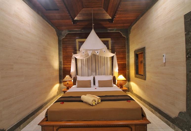 Hibiscus Cottages, Ubud, Chambre Double Standard, Salle de séjour