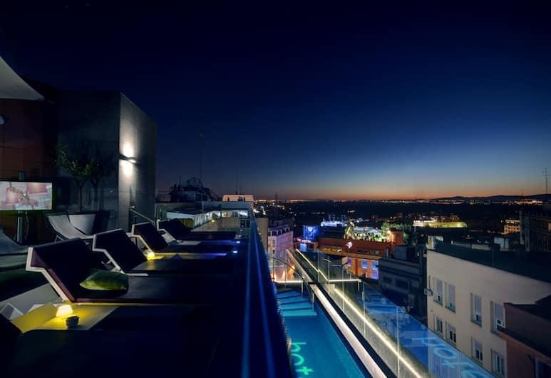 Hotel Indigo Madrid - Gran Via, Madryt, Taras/patio