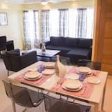 Appartement Deluxe, 2 chambres, non-fumeurs, vue océan - Coin séjour