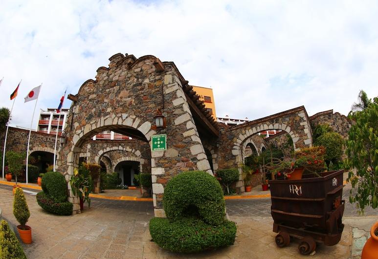 米納斯皇家飯店, 瓜納華多, 飯店正面