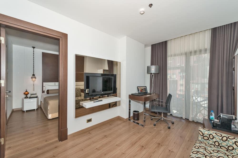 Phòng dành cho gia đình, 2 phòng ngủ - Khu phòng khách
