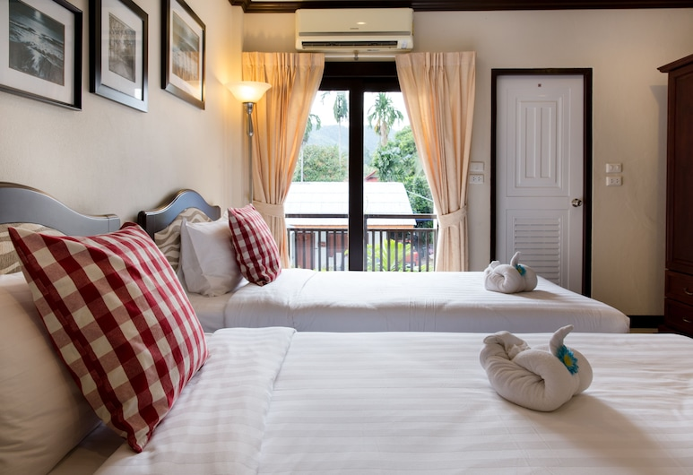 Garden Home Resort, Ko Samui, Standard Twin Room, Pemandangan Taman