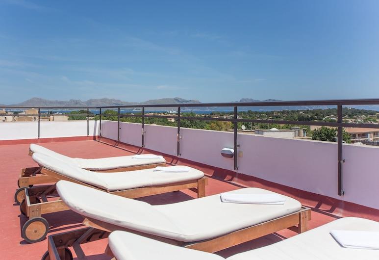 Apartamentos Carlos V, Alcudia, Terrasse/Patio
