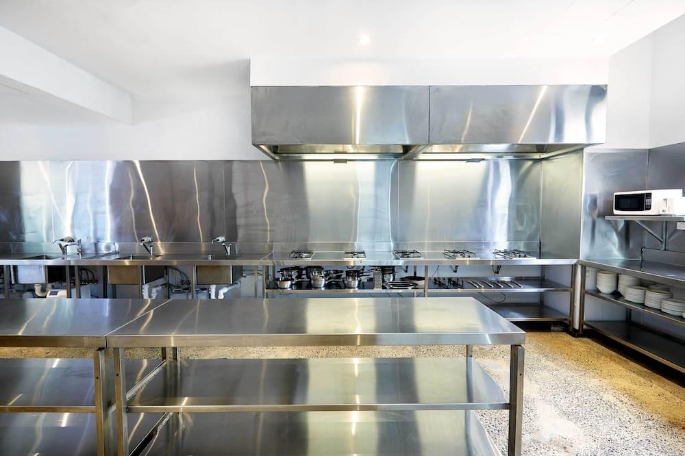 Fælles sovesal - Fælles køkken