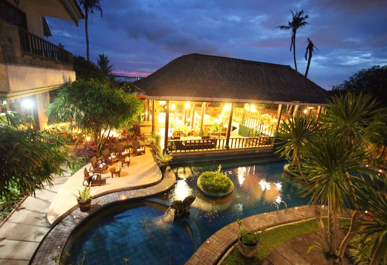 Sanur Seaview Hotel, Denpasar, View from Hotel