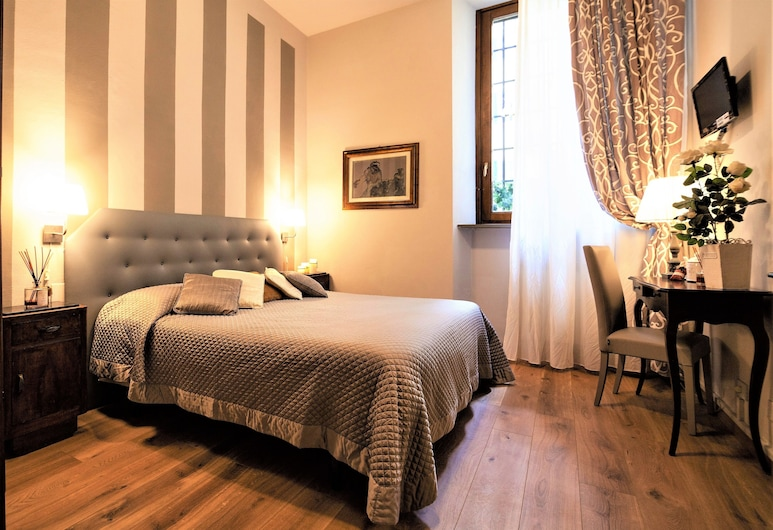 La Colonna, Lucca, Double Room, Garden View, Ground Floor, Guest Room View