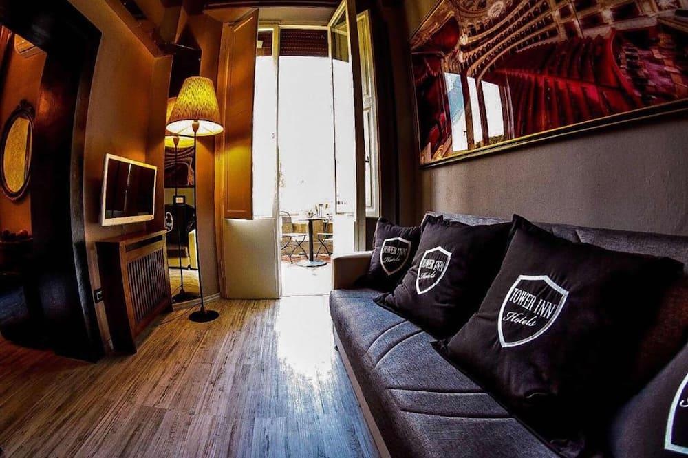 Presidential-suite - balkon - Stue