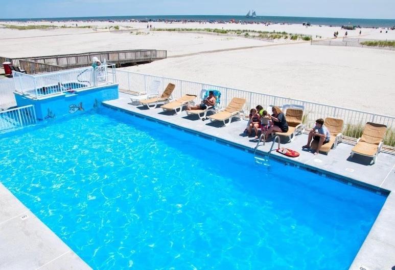 Granada Ocean Resort, Wildwood Crest, Bazén